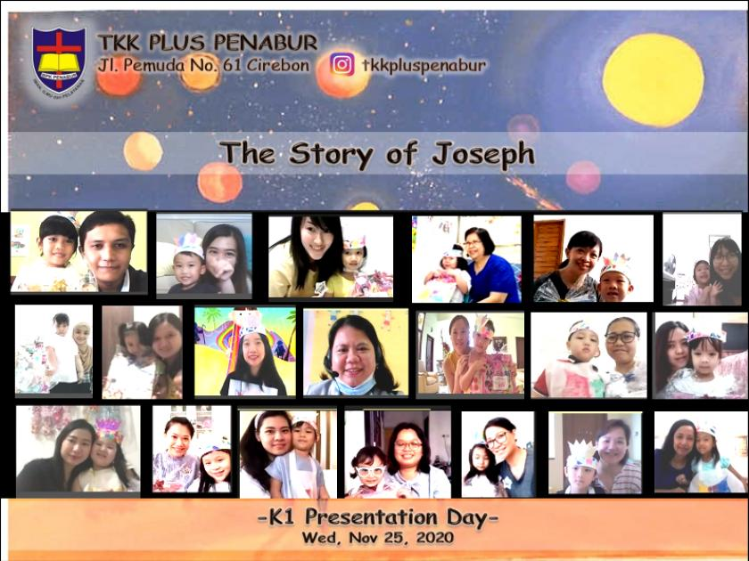 The Story Of Joseph - K1 Students Presentation